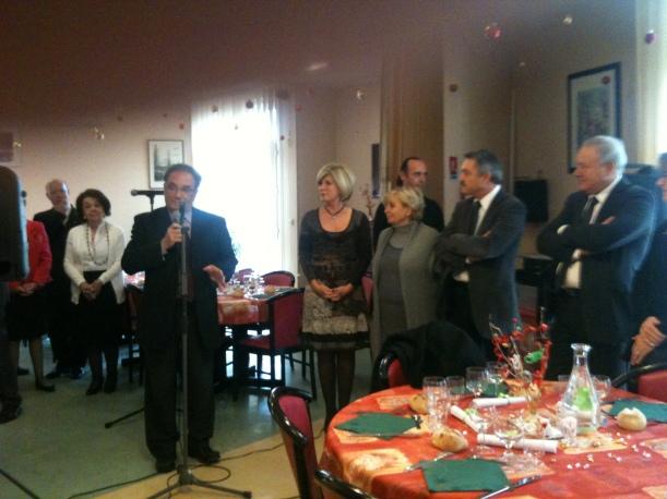 """Mercredi 19.12.2012 / Repas de Noël """"Entraide"""" - St Joseph"""