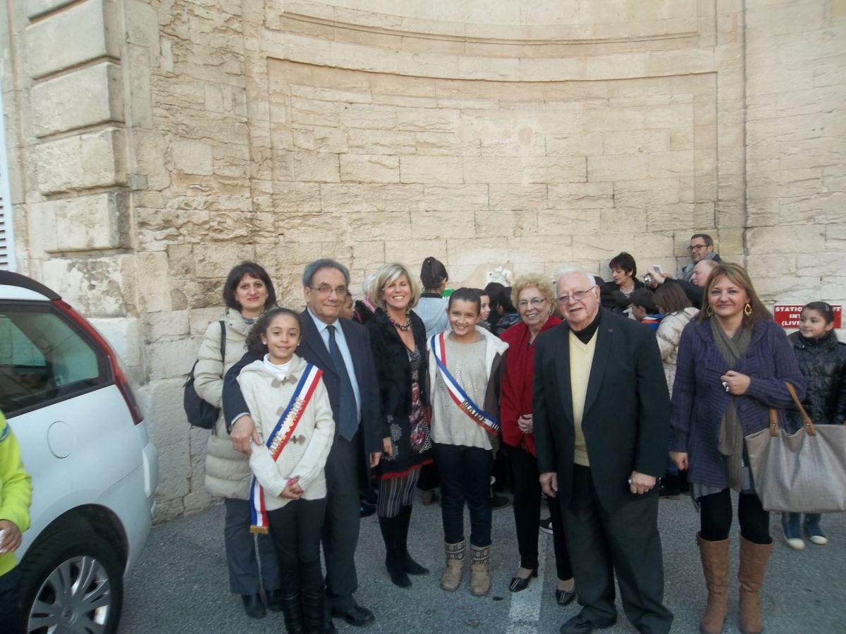 Le conseil d'arrondissement Junior sème le blé de l'espérance à La Mairie de Secteur le 18/12
